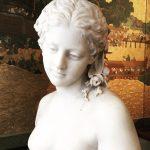 galerie tiago buste jeune femme marbre