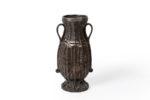 Galerie Tiago Paris Art du Japon Vase à Ikebana en bronze