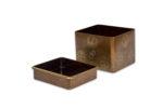 Galerie Tiago Paris Art du Japon Kushibako boîte à peigne laque or Meiji