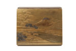 Galerie Tiago Paris Art du Japon Kobako boîte Mont Fuji laque Meiji
