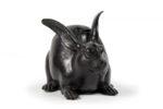 Galerie Tiago Paris Art du Japon Lapin brûle-parfum bronze Meiji