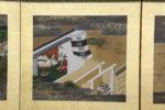 Galerie Tiago Paris Art du Japon Paravent Heike et Genji Edo