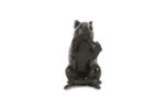 Galerie Tiago Paris Art du Japon Souris en bronze Meiji