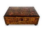 Galerie Tiago Paris Art du Japon coffre de mariage en bois marqueterie Florence Leonardo van der Vinne