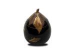 Galerie Tiago Paris Art du Japon Koro brûle-parfum kaki Meiji laque