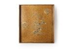 Galerie Tiago Paris Art du Japon Suzuribako pins et clématites laque Edo