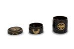 Galerie Tiago Paris Art du Japon Pot à encens laque Meiji