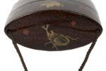 Galerie Tiago Paris Art du Japon Inro insectes boite à médicaments