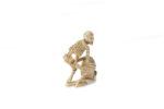 Galerie Tiago Paris Art du Japon Netsuke squelette ivoire Meiji