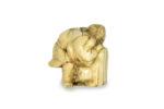 Galerie Tiago Paris Art du Japon Okimono ivoire Meiji