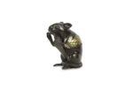 Galerie Tiago Paris Art du Japon Souris en bronze Meiji